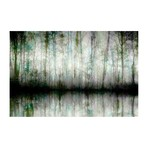 """Tall and Green Painting Print // Canvas (18""""W x 12""""H x 1.5""""D)"""