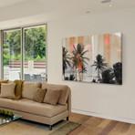 "Lake Palms Painting Print // Canvas (18""W x 12""H x 1.5""D)"