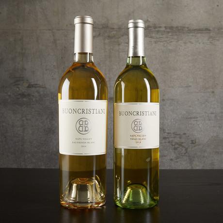 Buoncristiani Napa Valley Mixed Whites // 2 Bottles