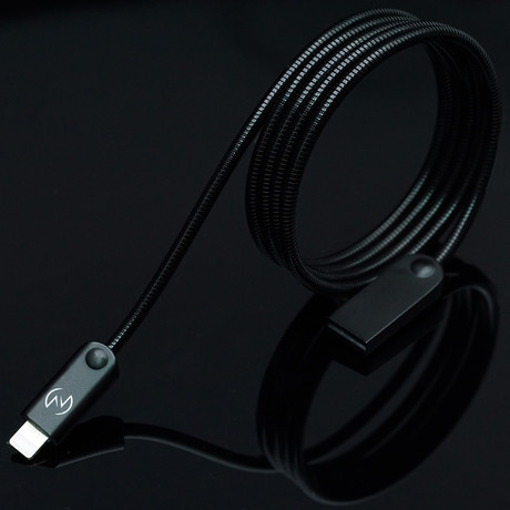 ODIN Charging Cable // Absolute Black (Apple Lightning // 3.3 ft)