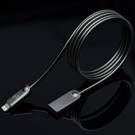ODIN Charging Cable // Space Grey (Apple Lightning // 3.3 ft)