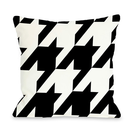 Molly Oversized Houndstooth // Pillow