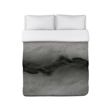 The Vibe Greyscale // Duvet Cover