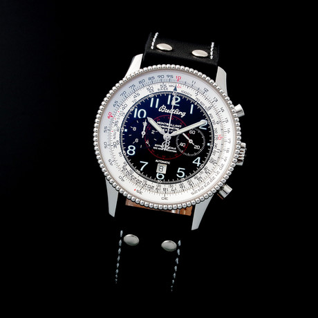 Breitling Montbrillant Chronograph Automatic // Limited Edition // A3533 // c. 2010s // Pre-Owned