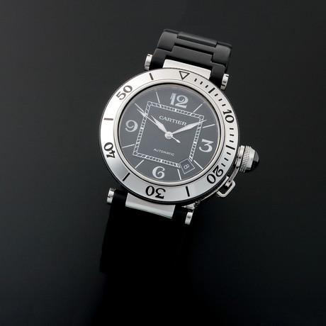Cartier Pasha Seatimer Automatic // W3107U // c. 2000s // Pre-Owned
