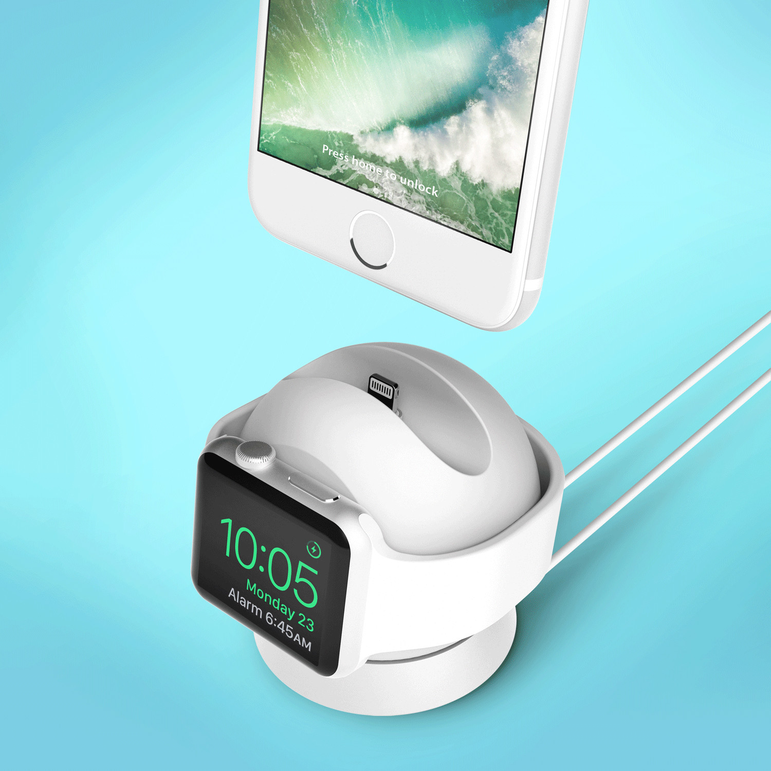 apple watch iphone omnibolt apple iphone charging stand graphite 6350