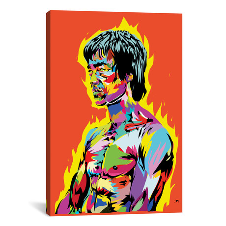 "Bruce Lee II (18""W x 26""H x 0.75""D)"