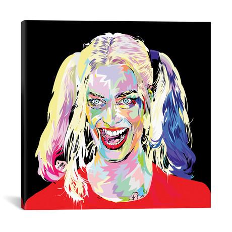 """Harley Quinn (18""""W x 18""""H x 0.75""""D)"""