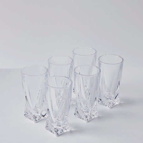 Calypso Shot Glasses // Set of 6