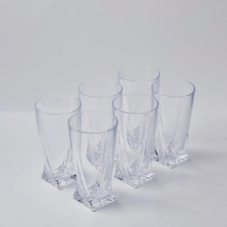 Calypso Iced Beverage Glasses // Set of 6
