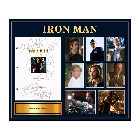 Signed Script // Iron Man