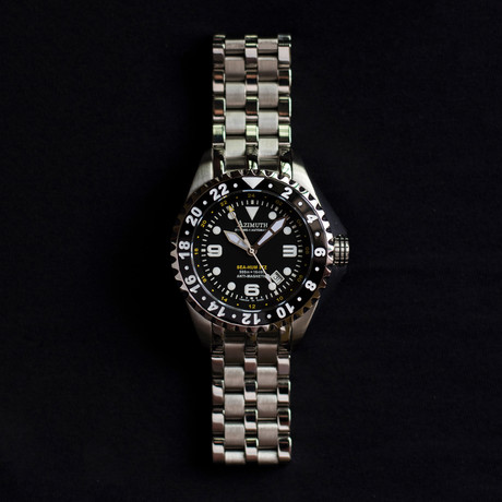 Azimuth Sea Hum 3 Time Zone Automatic // Extreme-1 // XT.SH.SS.N003