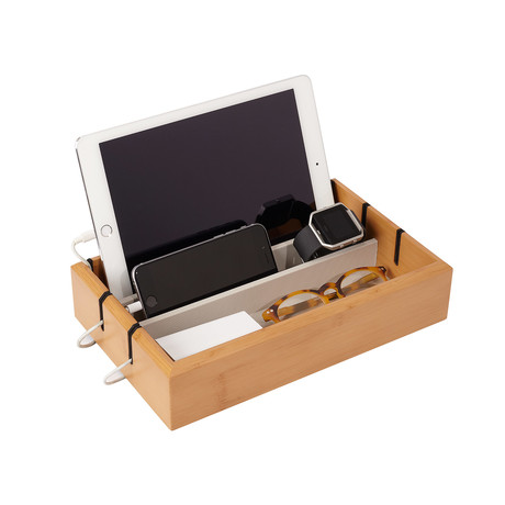 OYOBox Tech Tray // Bamboo