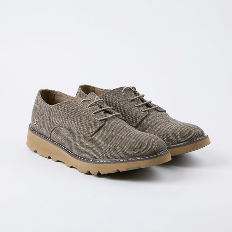 Verona Woven Derby // Taupe (US: 7)