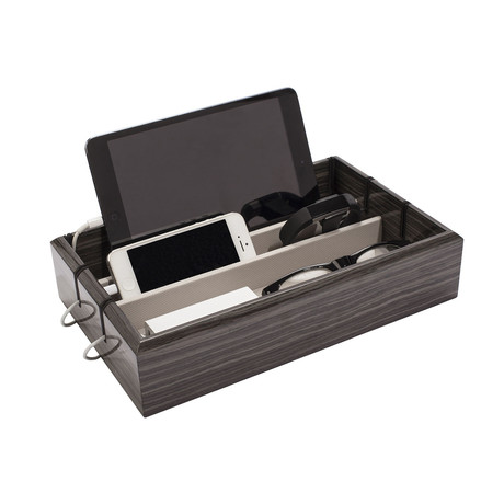 OYOBox Tech Tray // Zebra Gray