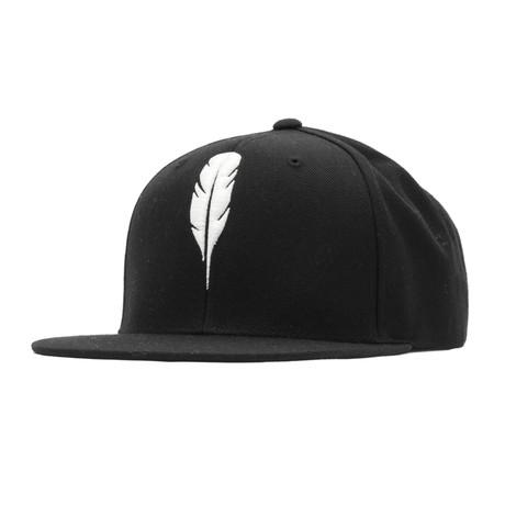 Feather Snapback // White