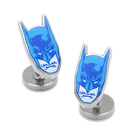 Blue Comics Batman Mask Cufflinks