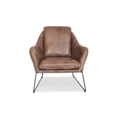 Lionel Leather Lounge Chair