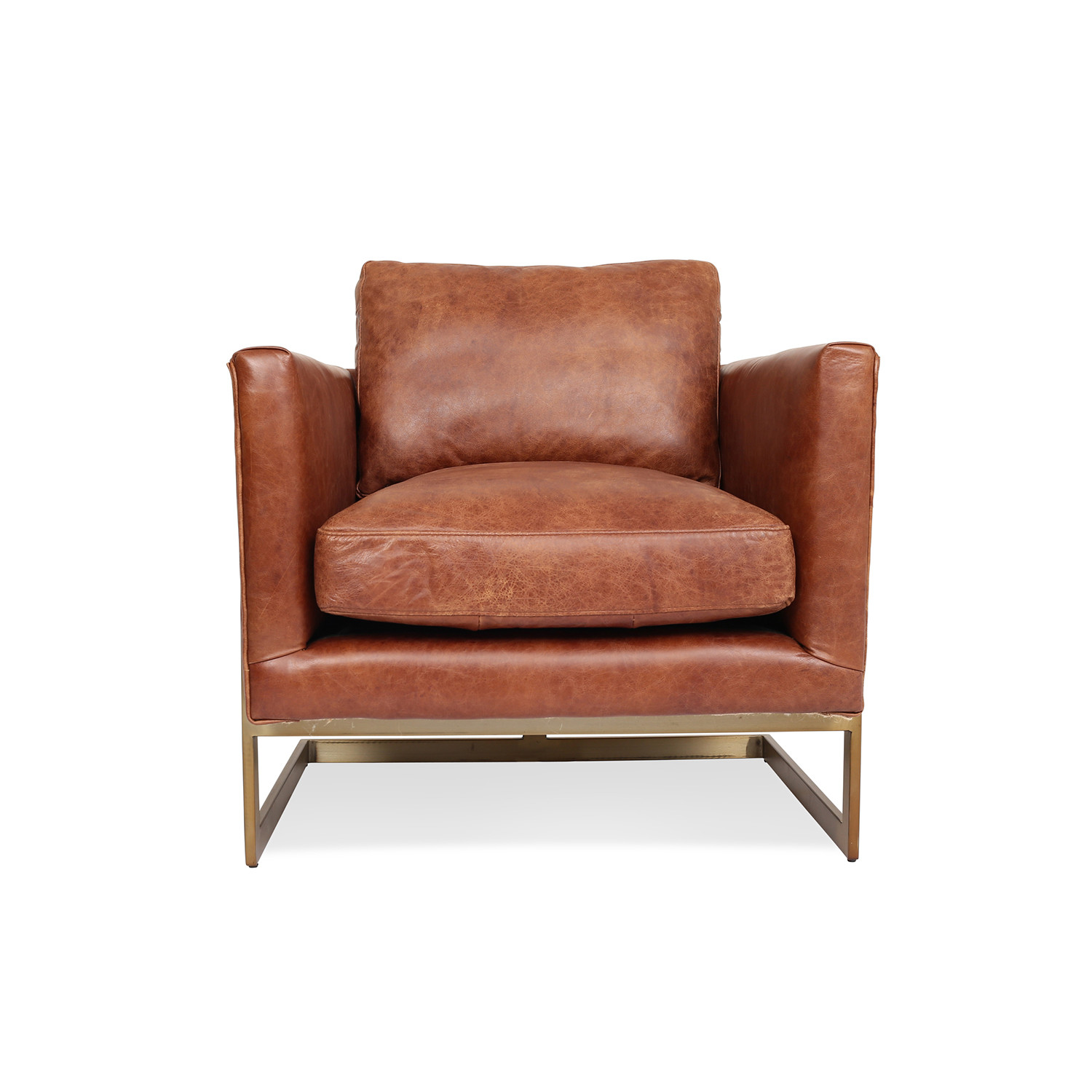 london leather lounge chair edloe finch touch of modern