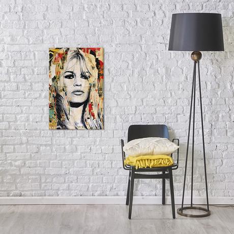 "Brigitte Bardot (18""W x 12""H x 0.75""D)"
