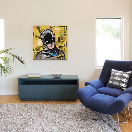 """Batman (12""""W x 12""""H x 0.75""""D)"""