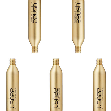 Champagne Cartridges // Set of 5