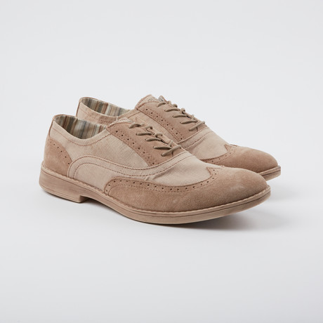 Vinci Wing-Tip Oxford // Chestut (US: 7)