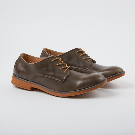 Volterra Leather Derby // Mouse (US: 7)
