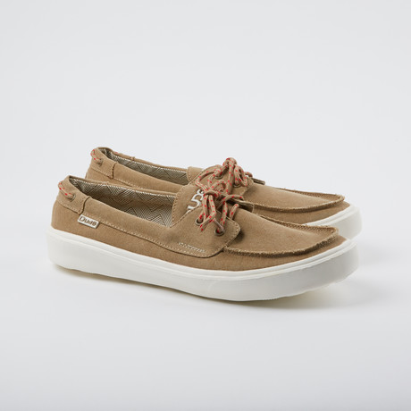 Kola Boat Shoe // Chestnut (US: 7)
