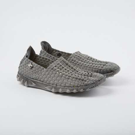 E-Last Slip-On Sandal // Grey (US: 7)