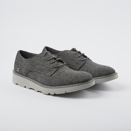 Verona Woven Derby // Charcoal (US: 7)