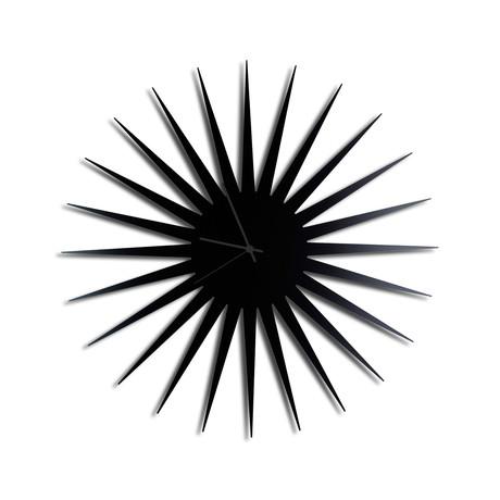 MCM Starburst Clocks // Black (Black Hands)
