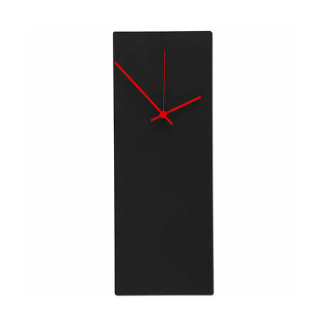Blackout Clock // Red Hands (Small)