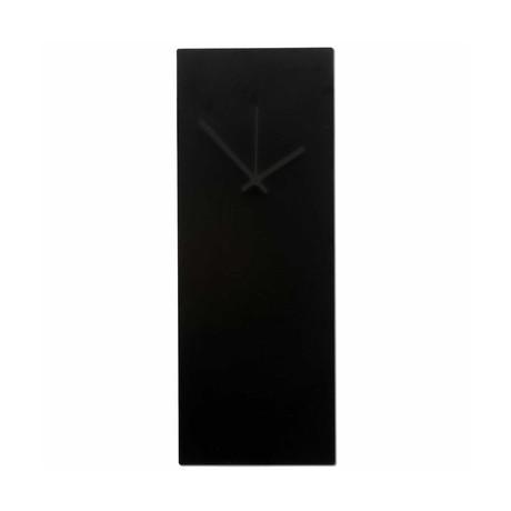 Blackout Clock // Black Hands (Small)