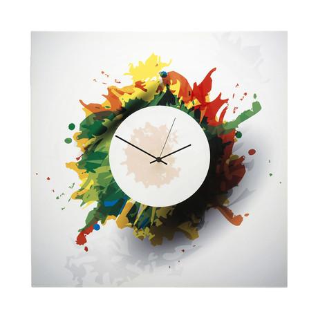Splatter Clock