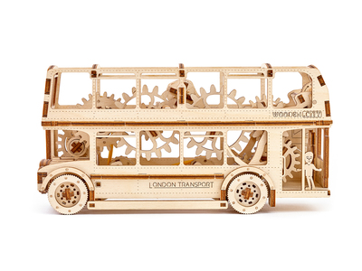 Touch Of Modern - WOODEN.CITY 3D Wood Puzzles London Bus Photo