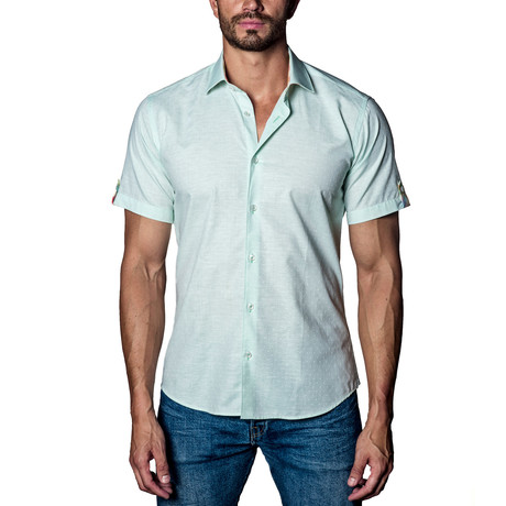 Short Sleeve Shirt // Green (S)
