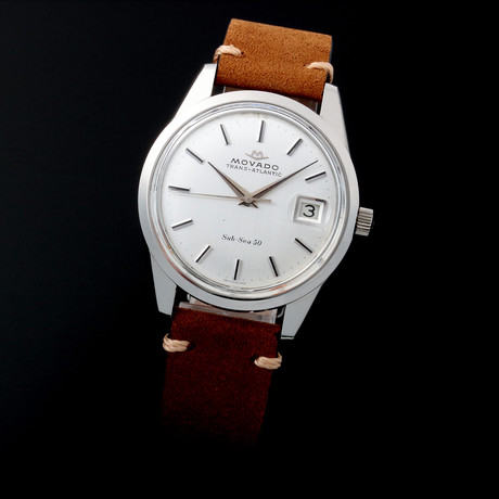 Movado Date Mechanical // c. 1970s // Pre-Owned