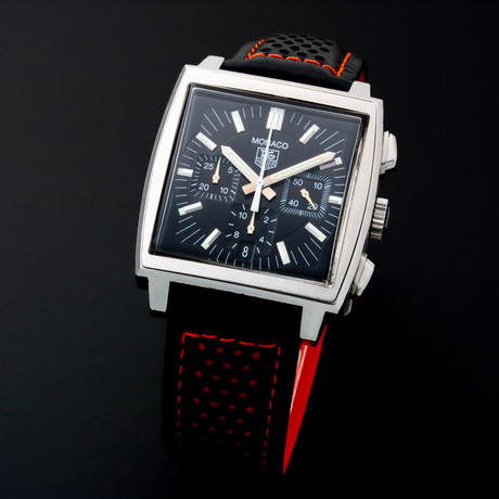 Tag Heuer Monaco Chronograph Automatic // 3595 // c. 2000s // Pre-Owned