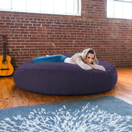 Chenille Cocoon Bean Bag