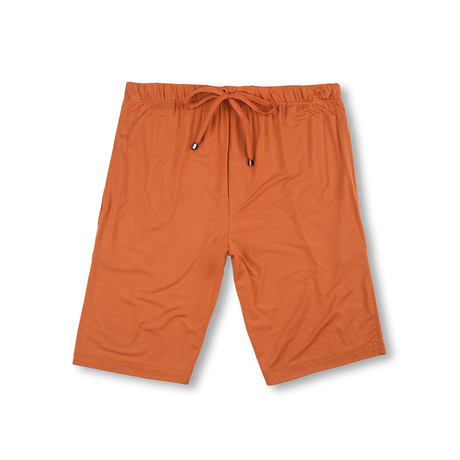 Luxury MicroModal Sleep Short // Burnt Orange (S)