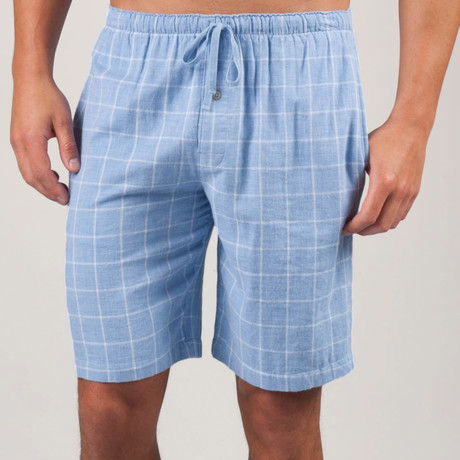 Plaid Double Gauze PJ Short // Lavender Luster (S)