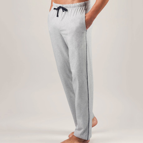 Essential Cotton Stretch Lounge Pant // Metro Grey Heather (S)