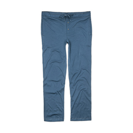 Pima Cotton Lounge Pant // Dark Denim (S)