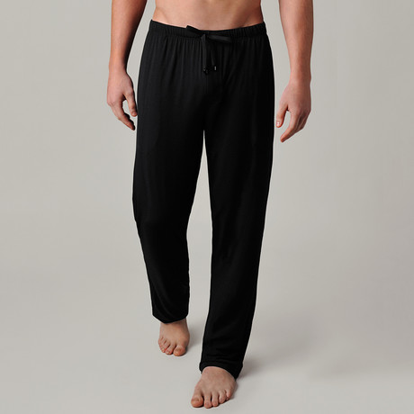 Luxury MicroModal Sleep Pant // Black (S)