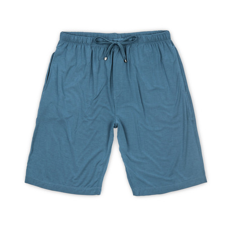 Luxury MicroModal Sleep Short // Dark Denim (S)