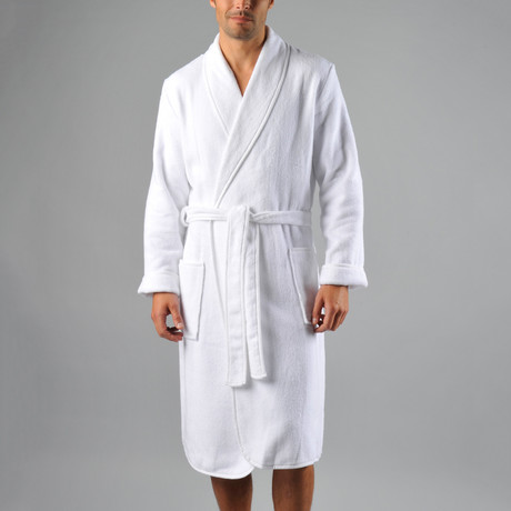 Luxury Spa Robe // White (S/M)