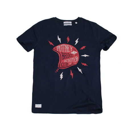 Scooter Club T-Shirt // Navy (S)