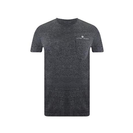 Pocket T-Shirt // Heather Steel Grey (S)