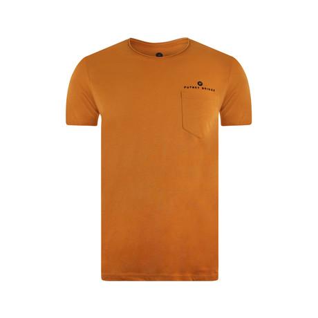 Pocket T-Shirt // Rust (S)